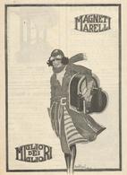 PUBBLICITA'  MAGNETI MARELLI  1923  RITAGLIATA DA GIORNALE - Werbung