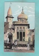 Old Post Card Of Hindu Temple,Cawnpore Kanpur, Uttar Pradesh, India,J19. - India
