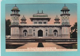 Old Post Card Of The Tomb Of Etmad-ud-doula,Agra, Uttar Pradesh, India J19. - India