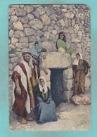Old Post Card Of Lazarus Tomb,al-Eizariya,(Bethany),Jerusalem. Israel J19. - Israel