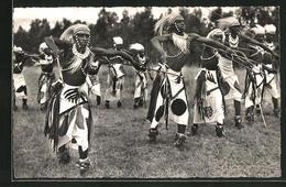 CPA Ruanda Urundi, Danseurs Watusis, Afrikanische Tanzgruppe - Ethniques & Cultures