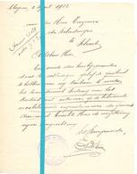 Brief Lettre - Gemeente Kluizen - Naar Kadaster 1932 - Vieux Papiers