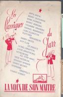 Catalogue De Disques LA VOIX DE SON MAITRE : Les Classiques Du Jazz (PPP9930) - Werbung