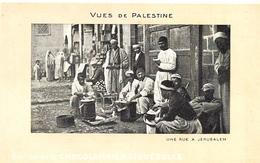 VUES DE PALESTINE - Une Rue à Jérusalem - Ed. CHOCOLATERIE D' AIGUEBELLE - Palestine