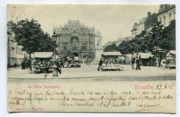 CPA - Carte Postale - Belgique - Bruxelles - La Place Anneessens - 1905 (SV6602) - Marktpleinen, Pleinen