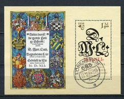 DDR Block 73               O   Used      (22205) ( Jahr: 1983 ) - DDR