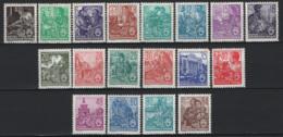 Germania DDR 1949 Unif.362/79 */MH VF/F - [6] Democratic Republic