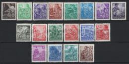 Germania DDR 1949 Unif.405/22 */MH VF/F - [6] Democratic Republic