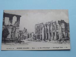 GUERRE 1914-1916 Ypres La Rue D'ELVERDINGHE ( N° 43 - Visé Paris ) 191? ( Voir / Zie Photo Detail ) ! - Guerre 1914-18