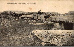 56 LOCMARIAQUER  ALLEE COUVERTE DES PIERRES-PLATES - Locmariaquer