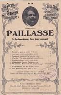 """Paillasse """"Ö Colombine,ton Bel Amant""""( Drame Lyrique En 2 Actes) Poéme Et Musique Léoncavallo,E.Crosi,M.Laffitte BE - Partitions Musicales Anciennes"""