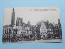 Bataille De M'Yser / Ypres After The Bombardement - Vue Des Hall ( 413 Phot Express ) 1915 ( Voir / Zie Photo Detail ) ! - Guerre 1914-18