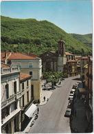 Mazamet: 3x CITROËN 2CV, 2CV AZU, SEAT 1500, PEUGEOT 403, MOPED - Cours René Reille Et Eglise St-Sauveur - (Tarn) - Toerisme