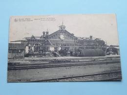 Ruines D'Ypres 1914-18 Ruines De La Gare / Station ( Nels / Sansen-Vanneste ) 1920 ( Voir / Zie Photo Detail ) ! - Guerre 1914-18