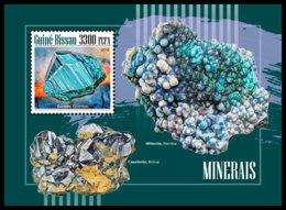 GUINEA BISSAU. 2018 **MNH Minerals Mineralien Mineraux S/S - OFFICIAL ISSUE - DH1848 - Minéraux