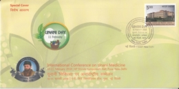 India  2018  Islam  Hakim Ajmal Khan  IN Conference On Unani Medicine  ND  Special Cover  # 16108  D  Inde Indien - Islam