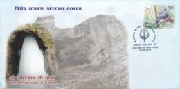 India 2018  Hinduism  Lord Shiva  Shri Amarnath Yatra  Baltal Yatra P.O.  Special Cover  #  16118  D  Inde Indien - Hinduism