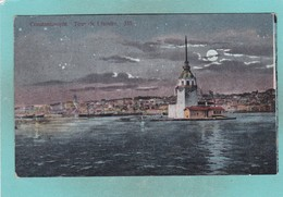 Old Post Card Of Constantinople, Istanbul, Turkey  J20. - Turkey