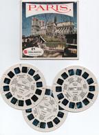 Paris  21 Vues View _master En Relief - Dias