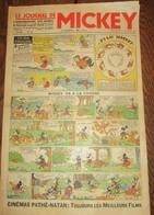 JOURNAL DE MICKEY N°18 Du 17 Fevrier 1935 - Journal De Mickey