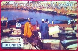Le Port  Fluvial De Mopti - Mali