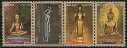 XE1170 Laos 2014 Temple Buddha Statue, Etc. 4V MNH - Laos