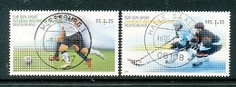 GERMANY Mi.Nr. 2788-2789 Sporthilfe  - Used - [7] République Fédérale