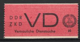 Germania DDR Servizio / Dienstmarke 1 **/MNH VF - Service
