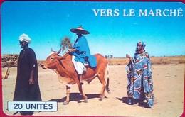 Vers Le Marche 20 Inits - Mali
