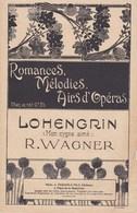 Romances Mélodies Airs D'Opéra  LOHENGRIN (Mon Cygne Aimé)  Richars Wagner Illust. H.Viollet  BE - Partitions Musicales Anciennes
