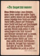 A7328 - Ernst Jentsch Kamenz - Spruchkarte Künstlerkarte - Gertraud Stiemer - Christentum