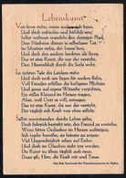 A7856 - Spruchkarte Künstlerkarte - Christkönigsgesellschaft Vom Weißen Kreuz Meitingen - Franziskaner - Christentum