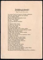 B4092 - Claus Berndt Liedkarte Künstlerkarte - Schöne Künste