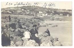 Cpa Carte-photo à Localiser, Bord De Mer, Côte D'Azur, Afrique Du Nord ? - Cartes Postales