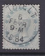 N° 39  Petits Defauts : THIELT - 1883 Léopold II