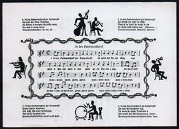 C0205 - Rudolf Krauss Liedkarte Künstlerkarte - Worte F.R. Kraus - Kunstverlag Vogel Schwarzenberg - Schöne Künste