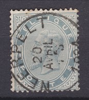 N° 39   Defauts : NEERPELT   COBA 8.00 - 1883 Léopold II