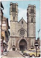 Chalon-sur-Saone: RENAULT DAUPHINE, JUVA BREAK, SIMCA ARONDE, PEUGEOT 403 - Cathédrale St-Vincent - (S.-et-L.) - Toerisme