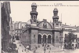 ALGERIE----ALGER--la Cathédrale Et Le Palais D'hiver Du Gouverneur-( Sortie Carnet )--voir 2 Scans - Alger