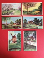 """Lot 6 CPA Anciennes """"Paysages"""" Ref 343 - Cartes Postales"""