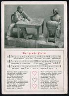 C0206 - Rudolf Krauss Liedkarte Künstlerkarte - Worte F.R. Krauss - Schöne Künste