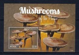 Micronésie Feuillet Neuf** TTB Champignon (Panéole) - Pilze
