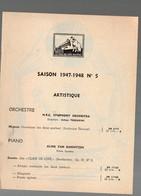 Catalogue De Disques LA VOIX DE SON MAITRE : Saison 1947-48 N°5  (PPP9933) - Werbung