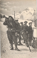 CLAIRONS DE CHASSEURS ALPINS  NON ECRIS - War 1914-18