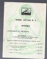 Catalogue De Disques LA VOIX DE SON MAITRE : Saison 1947-48 N°3  (PPP9934) - Werbung