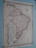 Empire De Brésil Par TH. Duvotenay ( See Description / Beschrijving ) ! - Cartes
