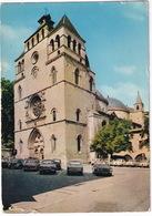 Cahors: SIMCA 1500, ARONDE, PEUGEOT 204 BREAK, 403, 404, RENAULT DAUPHINE, 4CV, 4, 8 - Cathédrale St-Etienne - (Lot) - Toerisme