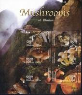 Bhoutan Feuillet Neuf**  TTB De 6 Timbres Champignon - Pilze