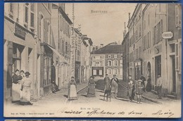 BRUYERES     Rue De Laval    Animées    écrite En 1906 - Bruyeres