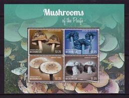 Micronésie Feuillet Neuf**  TTB De 4 Timbres Champignon - Pilze